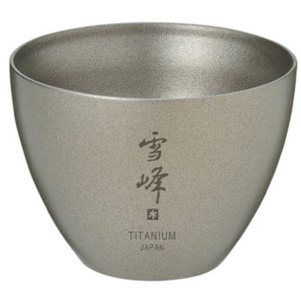 スノーピーク(snow peak) お猪口 Titanium TW-020 ステンレス製マグカップ