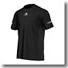 adidas(アディダス) AJP-ITQ08 M SQ ランニング 半袖Tシャツ J/O S03011(ブラック)