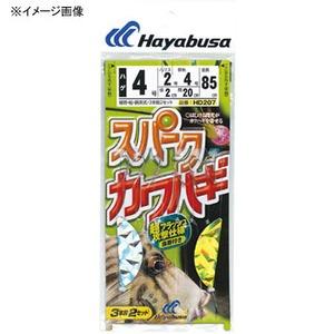 ハヤブサ(Hayabusa) スパークカワハギ ハゲ鈎仕様 3本鈎2セット HD207 仕掛け
