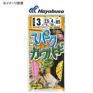 ハヤブサ(Hayabusa)スパークカワハギ キツネ鈎仕様 3本鈎2セット