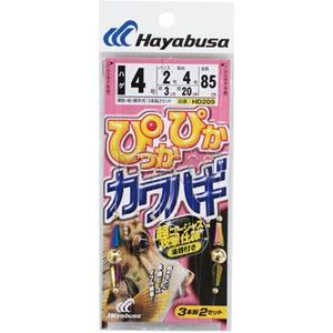 ハヤブサ(Hayabusa)ぴっかぴかカワハギ 3本鈎2セット