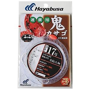 ハヤブサ(Hayabusa) 鬼カサゴ フロート 速潮用 3本鈎1セット 鈎17/ハリス6 SE705