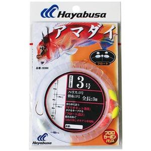 ハヤブサ(Hayabusa) アマダイ フロート仕様3 本鈎 SE686 仕掛け