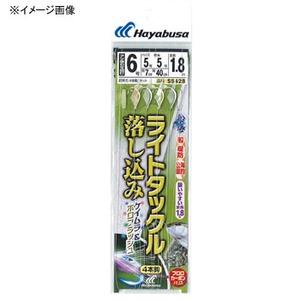 ハヤブサ(Hayabusa) ライトタックル 落し込み ケイムラ&ホロフラッシュ 4本鈎 SS428 仕掛け