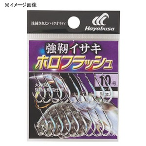 ハヤブサ(Hayabusa) 小袋バラ鈎 強靭イサキ ホロフラッシュ シルバー 8号 BS305