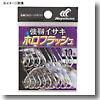 ハヤブサ(Hayabusa) 小袋バラ鈎 強靭イサキ ホロフラッシュ シルバー
