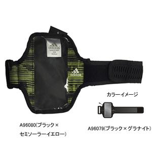 adidas(アディダス) AJP-KBQ29 ランニングモバイルポーチ NS A96079(ブラックxグラナイト)