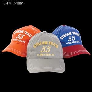 STREAM TRAIL(ストリームトレイル) キャップ2 55 ロゴ フリー オレンジ