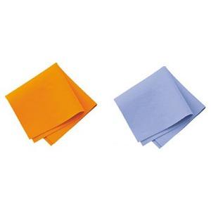 エフ・ケイ 超吸水ファイバークロス オレンジ&ブルー2枚入