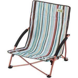 ロゴス(LOGOS) ストライプ あぐらチェア・ポケットプラス 73173034 座椅子&コンパクトチェア