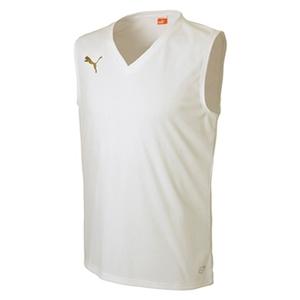 【送料無料】PUMA(プーマ) 653673 ジュニアインナーシャツ 110 05(WHITE)