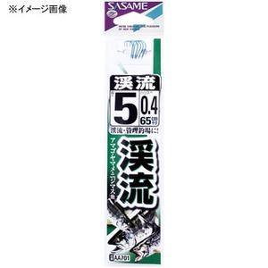 ささめ針(SASAME) 渓流鈎 糸付 鈎7/ハリス0.6 青 AA701