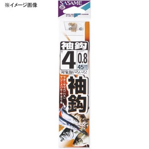 ささめ針(SASAME) 袖鈎 糸付 鈎3/ハリス0.6 イブシ茶 AA403