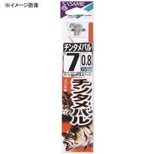 ささめ針(SASAME) チンタメバル 糸付 鈎6/ハリス0.8 白 AA505
