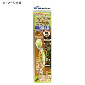 アウトドア&フィッシング ナチュラムハヤブサ(Hayabusa) ポケットスタイル アナゴウナギ替え仕掛 M 茶 HA556