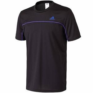 adidas(アディダス) AJP-KAZ10 M ESS BC ショートスリーブTシャツ J/L (S91190)ブラックxナイトフラッシュ S15