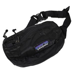 LW Travel Mini Hip Pack(ライトウェイト トラベル ミニ ヒップ パック) 1L BLK(Black×Black)