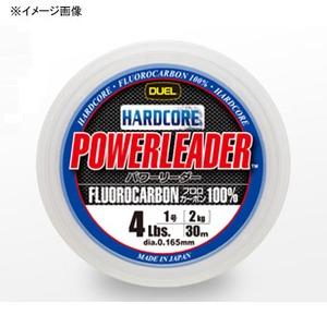 デュエル(DUEL) HARDCORE POWERLEADER(ハードコア パワーリーダー) FC 30m 0.8号/3Lb ナチュラルクリアー H3439