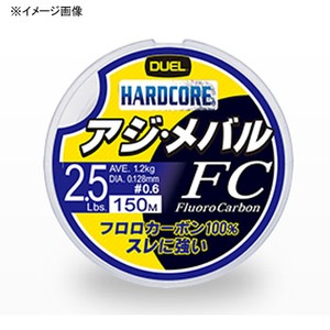 デュエル(DUEL) ハードコア アジ・メバル FC 150m 1号/4Lb ナチュラルクリアー H3451