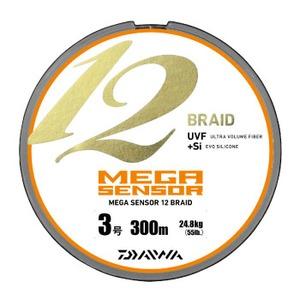 【送料無料】ダイワ(Daiwa) メガセンサー12ブレイド 300m 3号 04629952