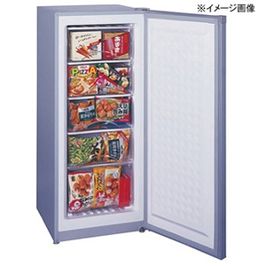 【送料無料】Excellence(エクセレンス) 冷凍庫 アップライト型 114L シルバーグレー MA-6144