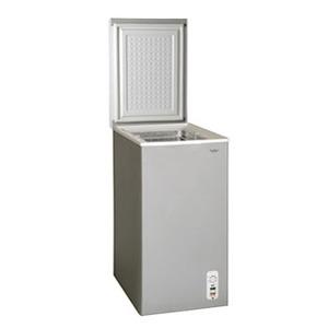 【送料無料】Excellence(エクセレンス) 冷凍庫 チェスト型 63L シルバーグレー MA-6063