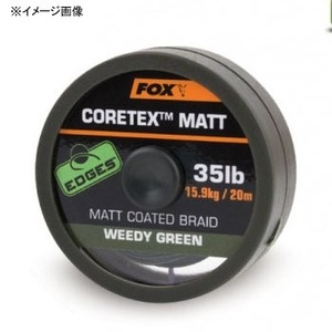 FOX(フォックスインターナショナル) マットコーテックス グラベリーブラウン 20m 道糸100m以下
