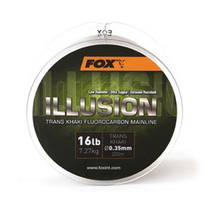 【送料無料】FOX(フォックスインターナショナル) イリュージョン トランズカーキ 600M 16lb