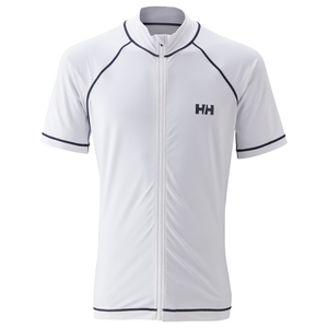 HELLY HANSEN(ヘリーハンセン) HE81512 S/S FULL-ZIP RASHGUARD L W