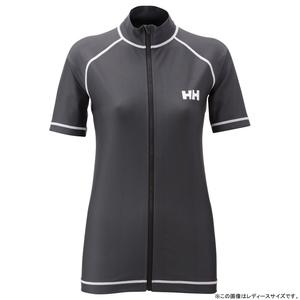 HELLY HANSEN(ヘリーハンセン) HE81512 S/S FULL-ZIP RASHGUARD L KZ