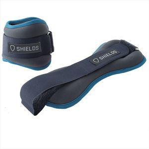 SHIELDS(シールズ) ソフトアンクルウエイト 1.0kg 2個セット SAW-10-2 1.0kg BL(ブルー)