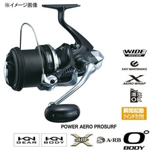 シマノ(SHIMANO) パワーエアロ プロサーフ(POWER AERO PROSURF) 標準仕様 03388 投げ釣り専用リール