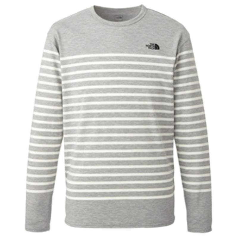 THE NORTH FACE(ザ・ノースフェイス) L/S FLASHDRY BO Men's L Z(ミックスグレー) NT61312