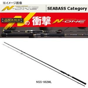 メジャークラフト N-ONE(エヌワン) シーバス NSS-962M 8フィート以上