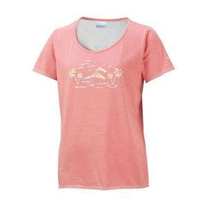 Columbia(コロンビア) グロッタグローブウィメンズTシャツ M 800(Coral Flame) PL2443