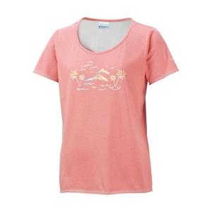 Columbia(コロンビア) グロッタグローブウィメンズTシャツ S 800(Coral Flame) PL2443