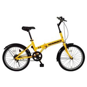 HUMMER(ハマー) HUMMER FDB20R【代引不可】 MG-HM20R 20インチ折りたたみ自転車