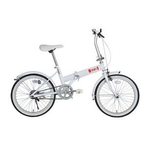 ミムゴ ZERO-ONE FDB20【代引不可】 MG-ZRE20-WH 20インチ折りたたみ自転車