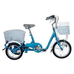 【送料無料】ミムゴ SWING CHARLIE ロータイプ三輪自転車 前16/後14インチ ブルー MG-TRE16SW-BL