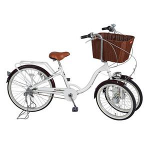 ミムゴ Bambinaバスケット付三輪自転車【代引不可】 MG-CH243B シティーサイクル