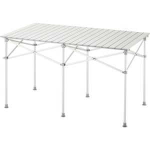 【送料無料】BUNDOK(バンドック) アルミロールテーブル 124x70cm BD-220