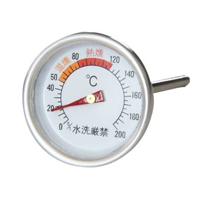 BUNDOK(バンドック) スモーカー用温度計 BD-438 BBQ&七輪&焚火台アクセサリー