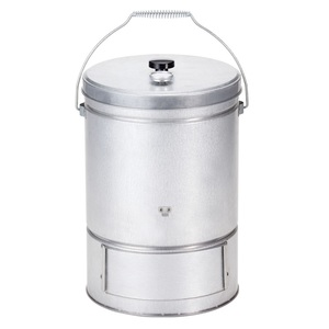BUNDOK(バンドック) スモーク缶 温度計付 燻製コンロ 3段式でまとめて燻る BD-439