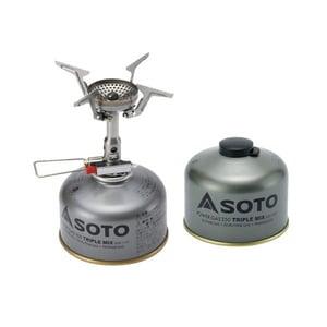 SOTO AMICUS(アミカス)+パワーガス250トリプルミックス【パワーガスプレゼント♪】 SOD-320+SOD-725T ガス式
