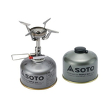 SOTO AMICUS(アミカス)+パワーガス250トリプルミックス【お得な2点セット】 SOD-320+SOD-725T ガス式