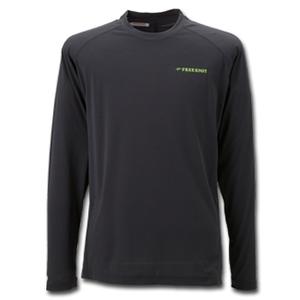 【送料無料】フリーノット(FREE KNOT) BOWBUWN(ボウブン) ライトロングTシャツ LL 90(ブラック) Y1430