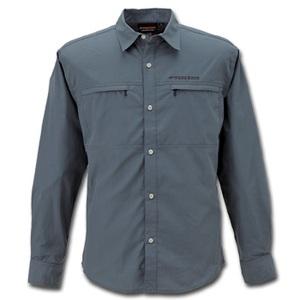 【送料無料】フリーノット(FREE KNOT) BOWBUWN(ボウブン) ライトフィールドシャツ 3L 93(チャコール) Y1431