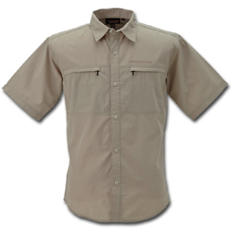 フリーノット(FREE KNOT) BOWBUWN(ボウブン) ライトフィールドシャツショートスリーブ L 20(ベージュ) Y1432