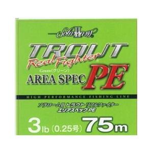 東レモノフィラメント(TORAY) ソラローム トラウトリアルファイター エリアスペックPE 75m