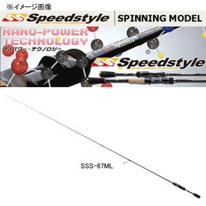 メジャークラフト スピードスタイル SSS-S63UL/SFS 1ピーススピニング